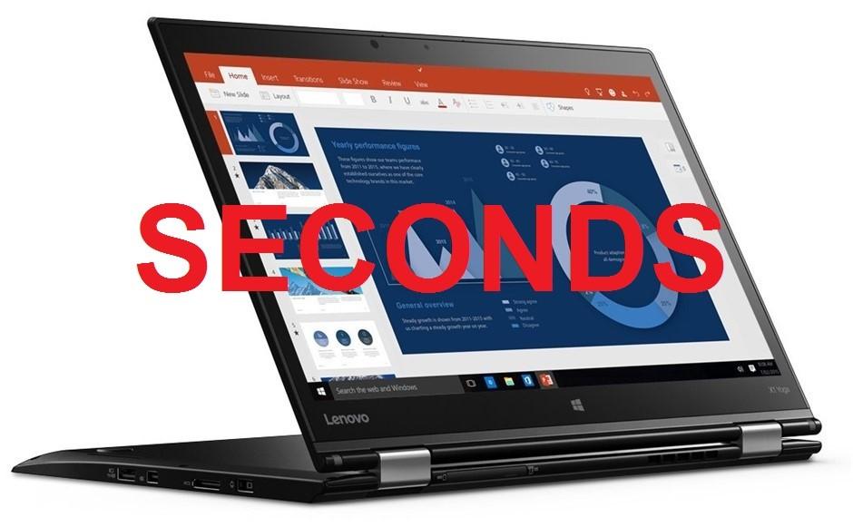 Lenovo ThinkPad X1 Yoga 14-inch Notebook, Black