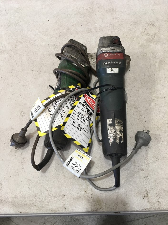 Angle Grinders, Cordless Drill, Impact Wrenches & Die Grinder (Gladstone)