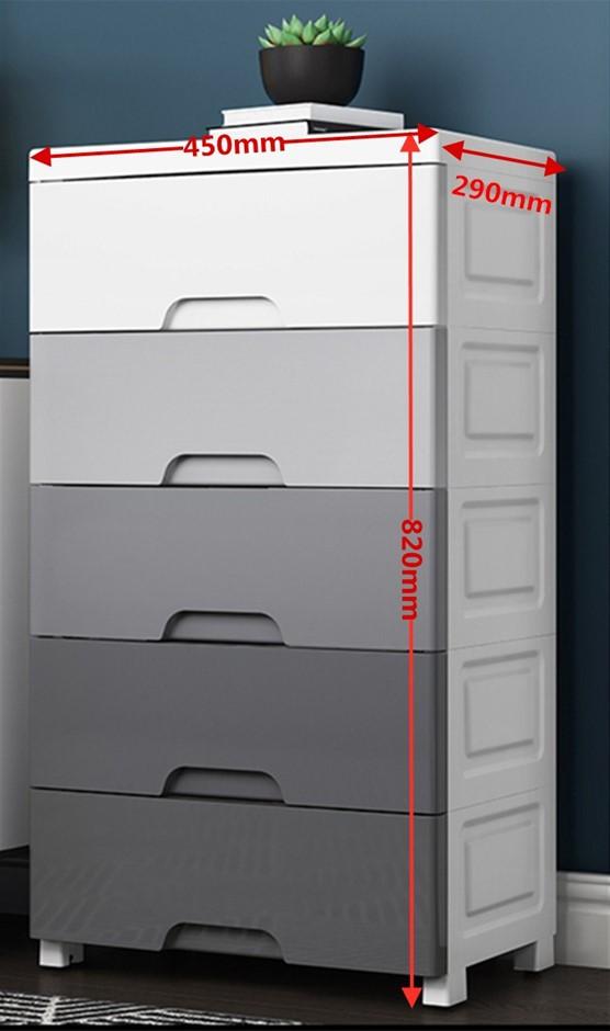 Plastic cabinet 450mm length
