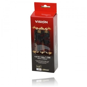 5 x VISION High Quality 1.5M HDMI Cables