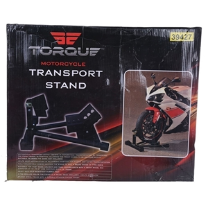 TORQUE Motorcycle Transport Stand. (SN:A