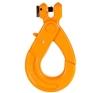 2 x B-SAFE Clevis Self Locking Hooks, WLL 2,000Kg, 7-8mm, Grade 80. Buyers