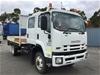 2012 Isuzu FHFSSGD D11 4 x 4 Tray Body Truck