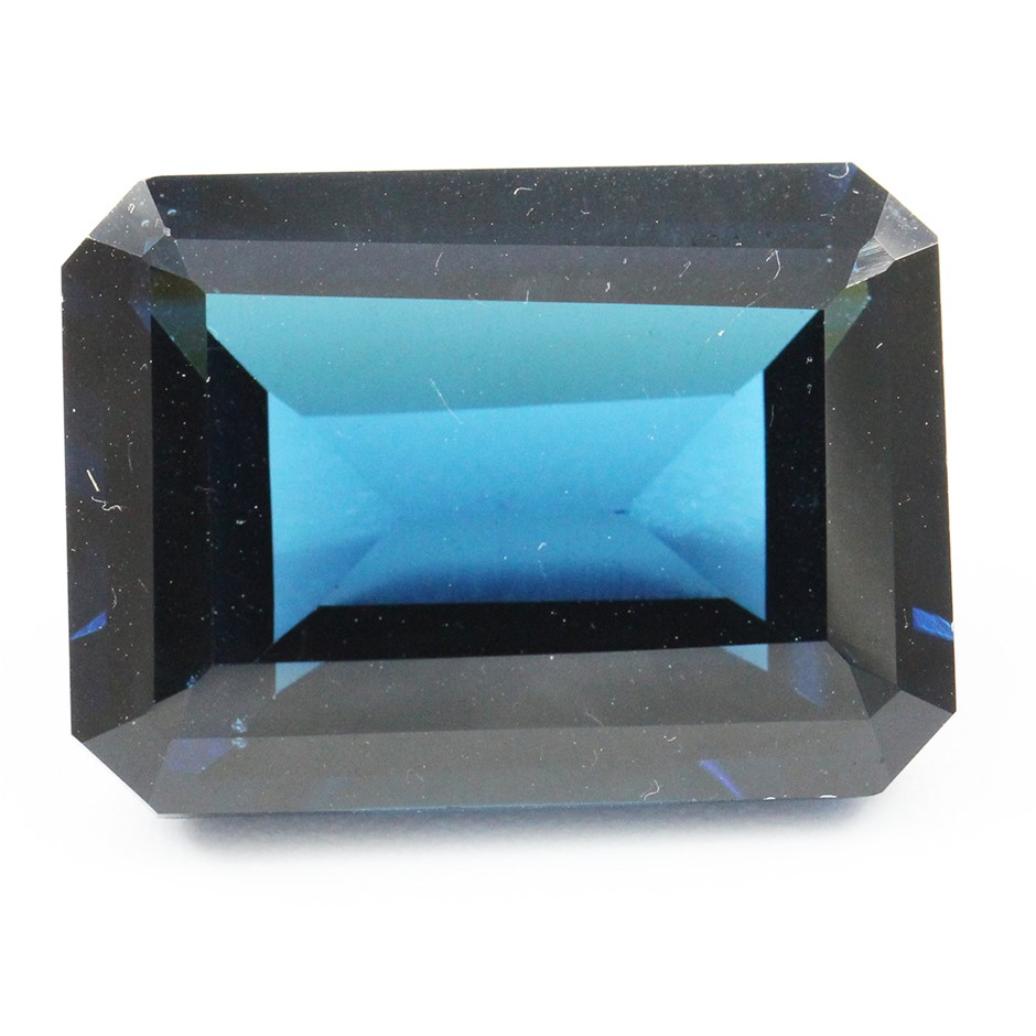 One Loose Blue Topaz, 19.99ct in Total