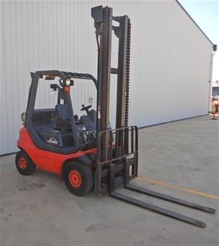 2008 Linde H25 4 Wheel Counterbalance Forklift