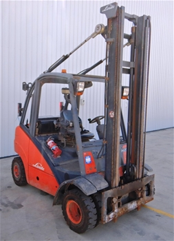 2005 Linde H-25 4 Wheel Counterbalance Forklift