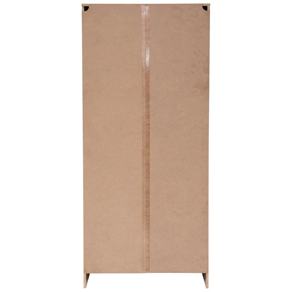 Multi-Purpose Broom Cupboard 2 Door - Light Sonoma Oak