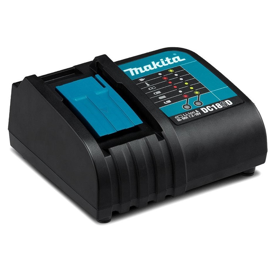 MAKITA 18V Li-Ion Battery Charger DC18SD. Buyers Note - Discount Freight Ra