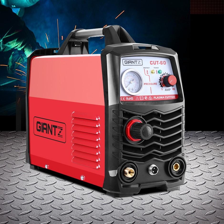Giantz 60Amp Inverter Welder Plasma Cutter Gas DC iGBT Welding Machine