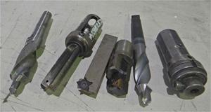 A Quantity of Machining Tools