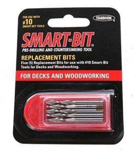 6 x Packs of 5 SMART-BIT Pre-Drilling Bi