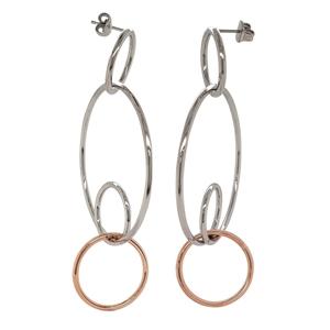 Calvin Klein Clink Stainless Steel Earri