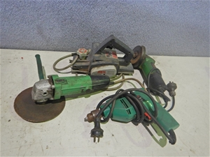 A Qty of Electric Hand Tools