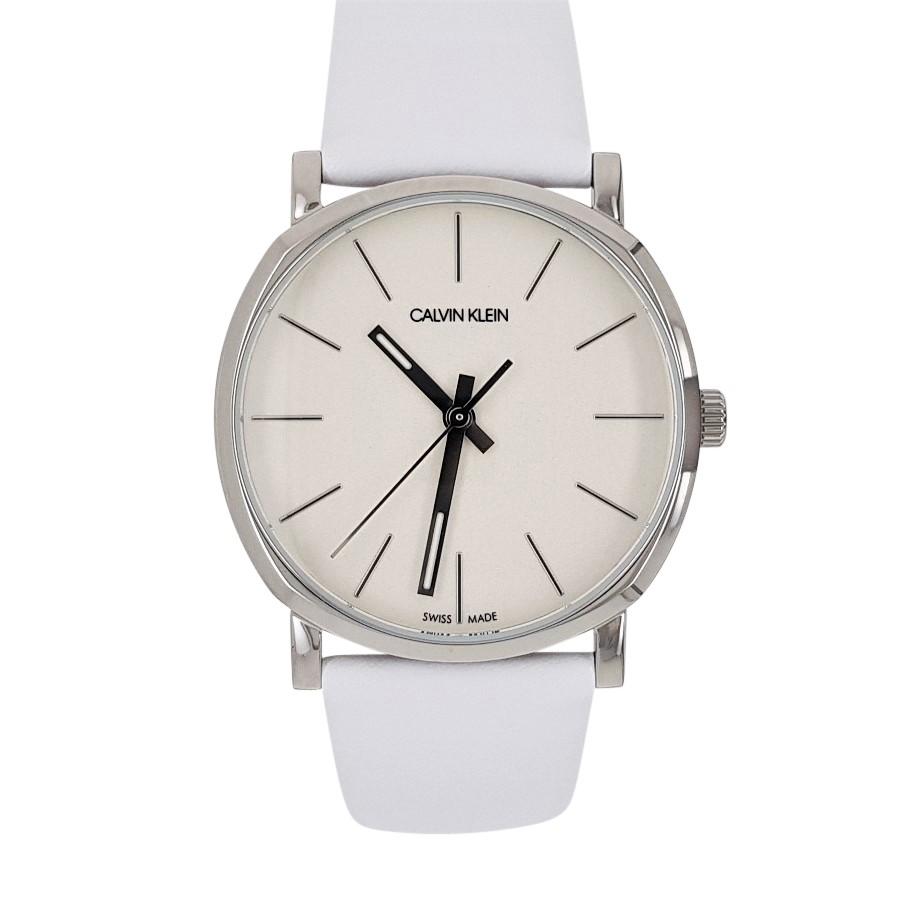 Calvin KleinPosh Quartz White Dial Ladies Watch