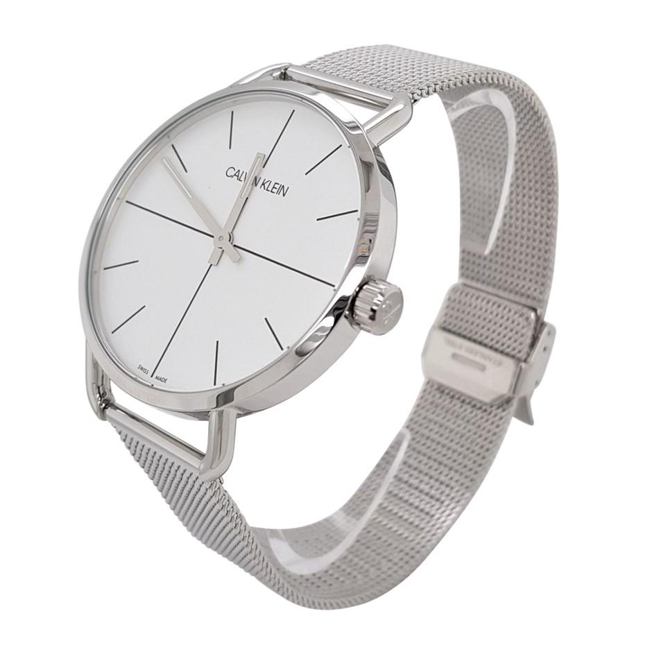 Calvin KleinEven Quartz Silver Dial Ladies Watch