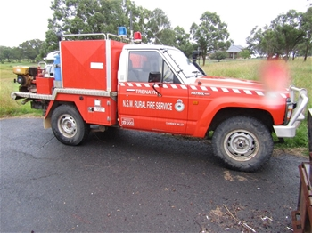 RFS Nissan Patrol 4WD Ute with Fire Unit tray