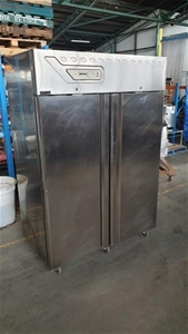 2 Door Stainless Freezer