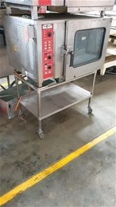 Commercial Combi Oven (6 Tray) On Stainl