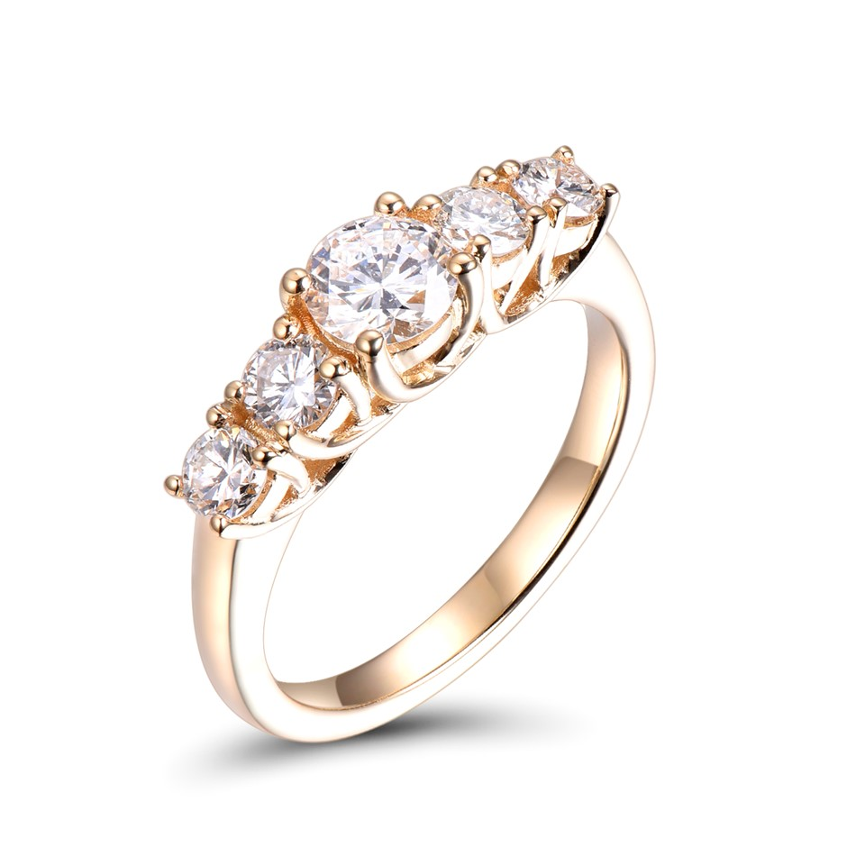 18ct Yellow Gold 0.53ct Diamond Engagement Ring