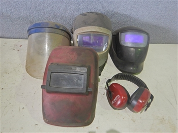 Assorted PPE & Welding Helmets