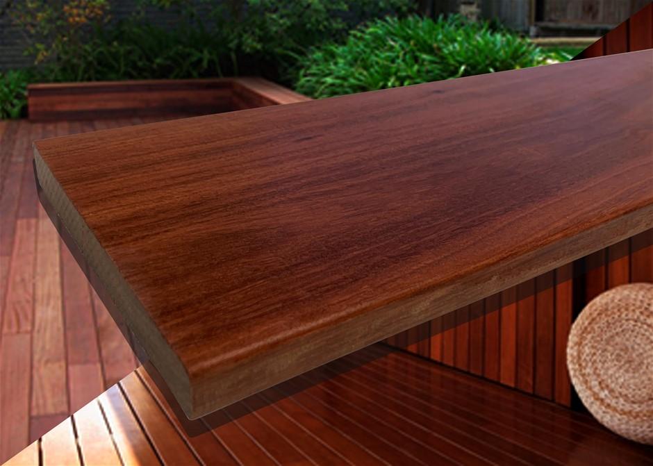 25.38m² of Queensland Red Ironbark Hardwood Decking - 135mm x 19mm