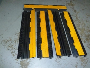 Qty 5 x Cable Guard Two Channel Floor Ca