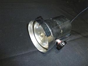 Qty 7 x Pin Spot Lights in Custom Storag