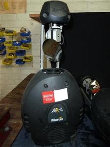 Qty 2 x Martin MX4 Moving Head Scanner E