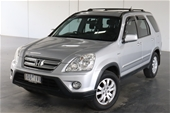 Unreserved 2005 Honda CR-V Sport RD Automatic Wagon