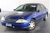Unreserved 2001 Ford Falcon Forte AUII Automatic Sedan