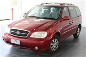 Unreserved 2005 Kia Carnival LS Automatic 7 Seats