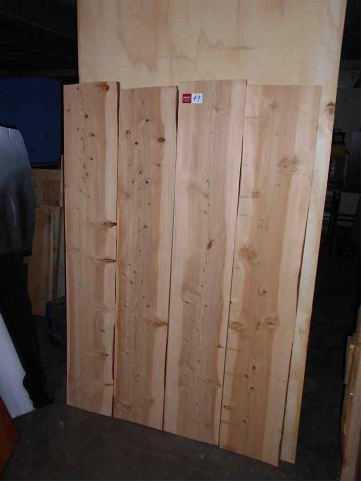 Assorted timber / furniture board pack (4 boards) - Deodar (Himalayan) Ceda