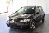 Unreserved 2005 Renault Megane Authentique Auto Hatchback
