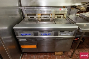 Electric Frymaster FPEL314CA Triple well