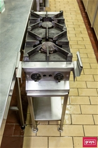 Two Burner Gas Cooktop
