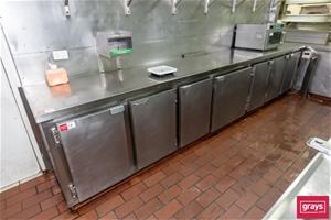 Seven Door Refrigerated Cabinet with Ben