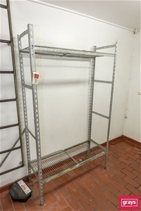 Two Bays of Cool Room Racking (only 3 sh