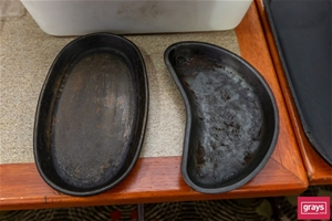 Qty of Cast Iron Pie Dishes