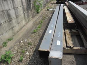 2 Lengths of Steel RHS 150 x 150, wt 5mm