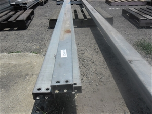 3 Lengths of Steel RHS 100x50