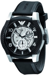 f986849d79a8 Buy Men s Emporio Armani Automatic Meccanico Watch AR4630 ...