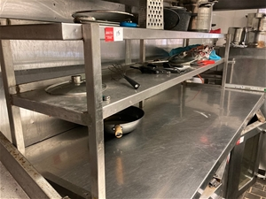 Benchtop Stainless Steel Shelving