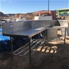 Commercial Industrial Stainless Steel Sink
