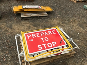 2 x Pallets of Various Road Signs