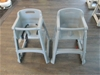 Qty 2 x High Chairs