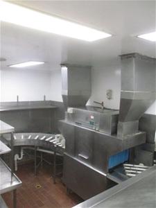 Hobart Passthrough Dishwasher