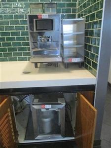 Thermoplan Coffee Machine with Milk Frid