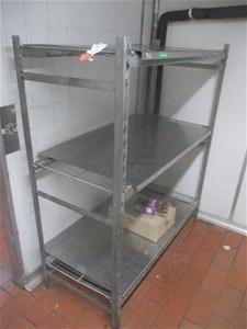 Quantity of 3 Shelf Units