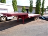 Triaxle Step Deck Trailer