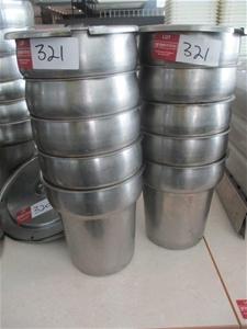Quantity 10 Approx Soup Tureens
